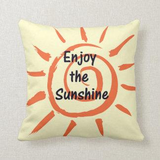 Enjoy the Sunshine Pillow Throw Cushion