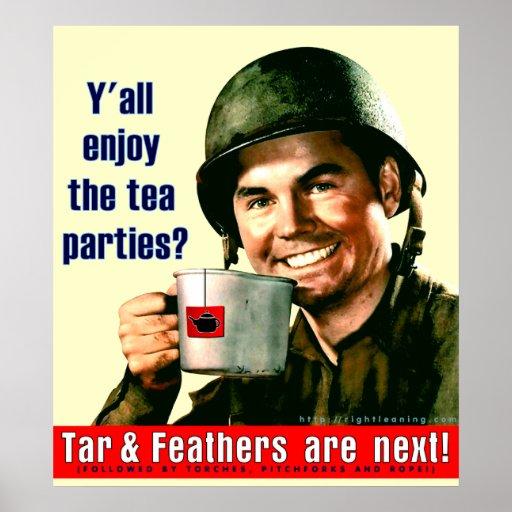 Enjoy the Tea Party? Poster