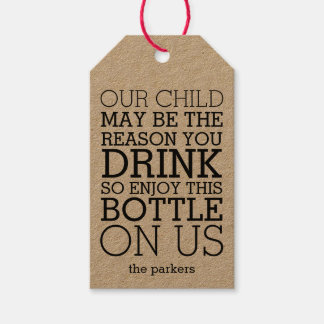 Enjoy This Bottle on Us | Funny Teacher Wine