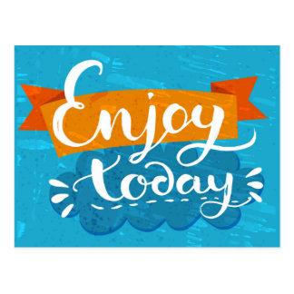Enjoy Today Postcard