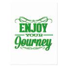 Enjoy Your Journey Postcard