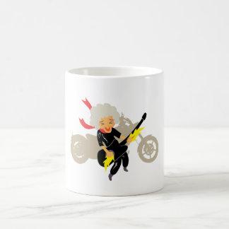 Enjoy your life basic white mug