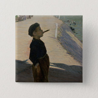 Enjoying Life, Volendam, Zuider Zee 15 Cm Square Badge