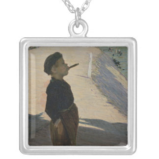 Enjoying Life, Volendam, Zuider Zee Silver Plated Necklace