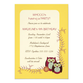 Enjoying the Sunshine Birthday Party Invitation
