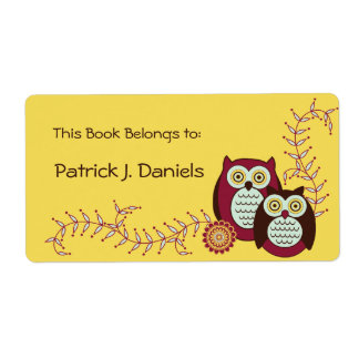 Enjoying the Sunshine Bookplates Shipping Label