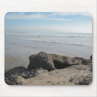 Enjoying the Surf  in Ventura Mouse Pad