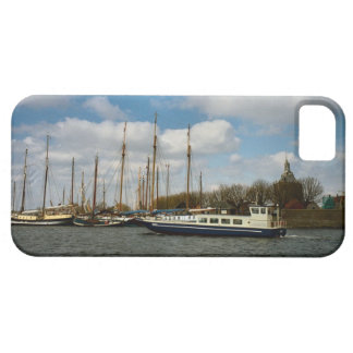 Enkhuizen harbour, Ijselmeer, Durch sailing boats iPhone 5 Case