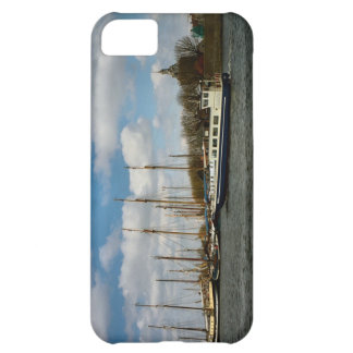 Enkhuizen harbour, Ijselmeer, Durch sailing boats iPhone 5C Case