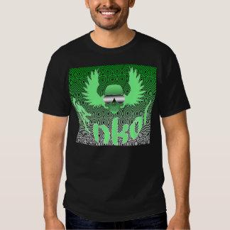 enkor skull lime green tshirt