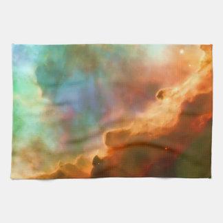 Enlarged Region of The Omega Nebula Hand Towels