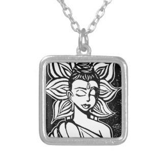 Enlightement Silver Plated Necklace