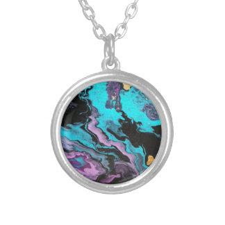 Enlighten abstract painting pendants
