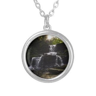 Enlighten Round Pendant Necklace