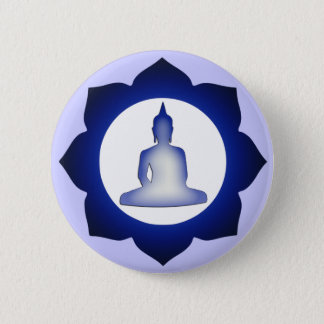 Enlightened Buddha 6 Cm Round Badge