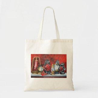 Enlightened Past (Lanturns) Tote Bag