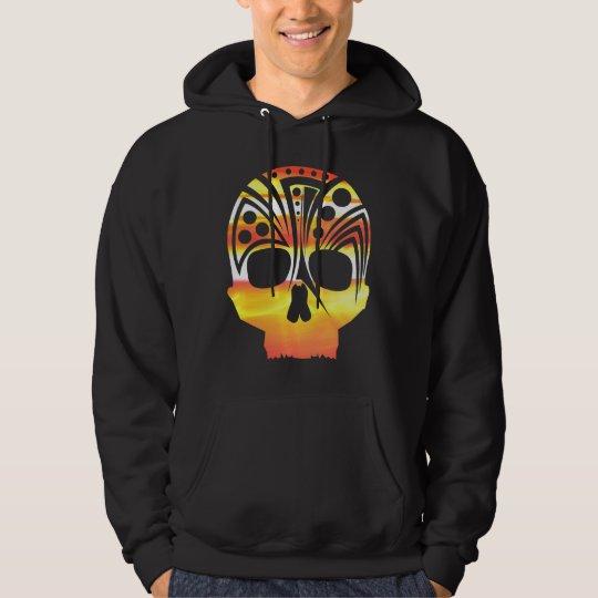 enlightened skull hoodie