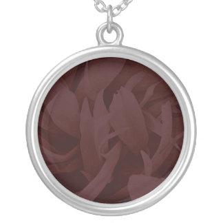 Enlightening Dark Maroon floral valentine gift Custom Jewelry