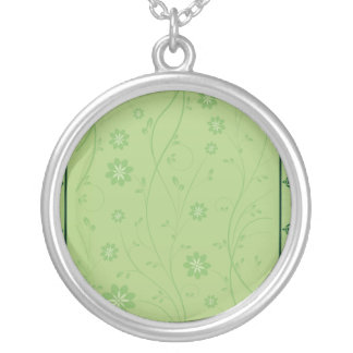 Enlightening greenish floral wedding gift necklace