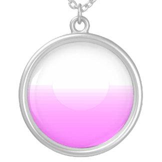 Enlightening pink texture custom jewelry