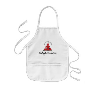 Enlightenment Yoga Gift Kids Apron