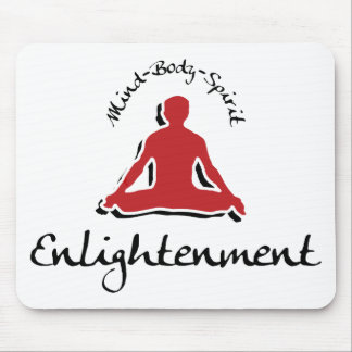 Enlightenment Yoga Gift Mousepads