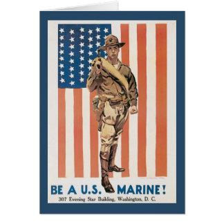 Enlist Now World War 2 Greeting Card