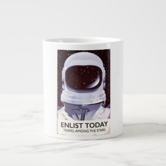 Enlist Today! Large Coffee Mug