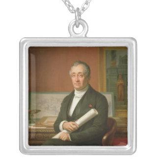Ennio Quirino Visconti  1854 Silver Plated Necklace