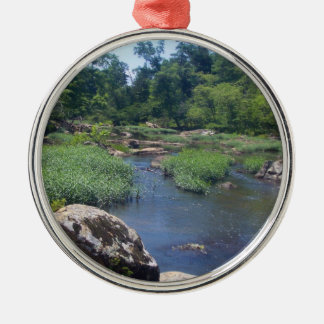 Eno River, North Carolina Christmas Ornament