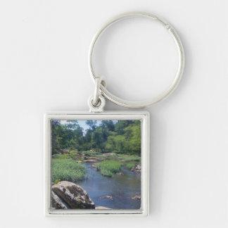 Eno River North Carolina Key Chain