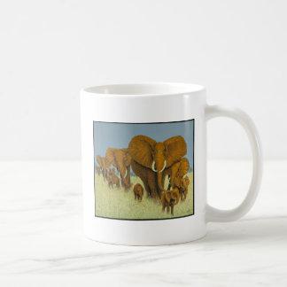 Enormous but caring basic white mug