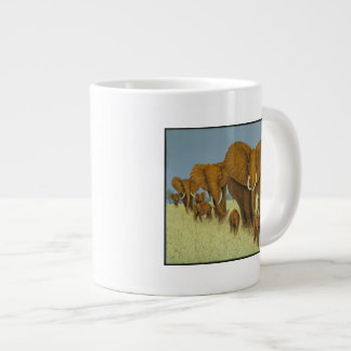 Enormous but caring jumbo mug