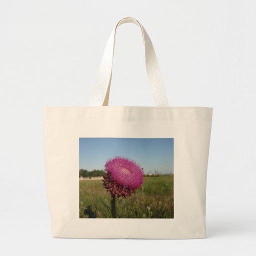Enormous Purple Thistle Tote Bag