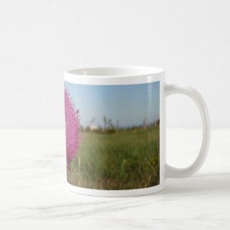 Enormous Purple Thistle Basic White Mug