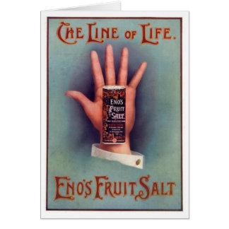 Eno's Fruit Salt Greeting Card