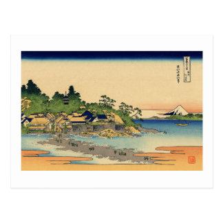 Enoshima in Sagami Province Post Card