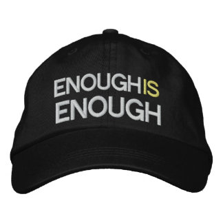 Enough is Enough - Tax Reform - SRF Embroidered Hats
