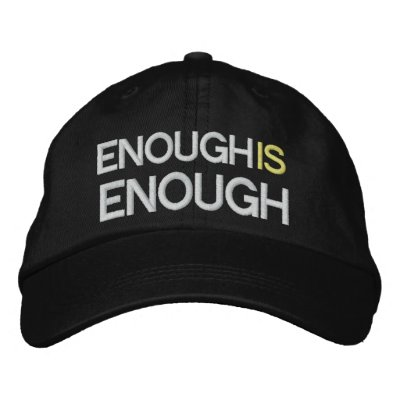 Enough is Enough - Tax Reform - SRF Embroidered Baseball Cap