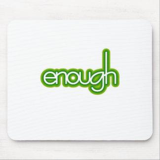 Enough (lime) mouse pad