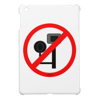 ENOUGH! No more red light or speed cameras! Cover For The iPad Mini