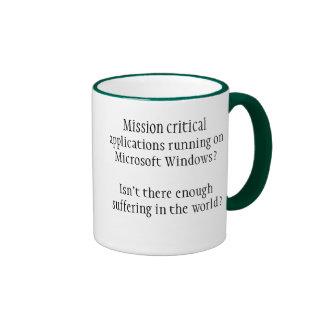 Enough Suffering Ringer Mug