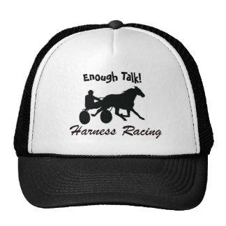Enough Talk Harness Racing Cap