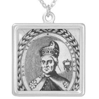 Enrico Dandolo Silver Plated Necklace