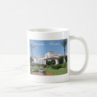 Ensenada 3 basic white mug