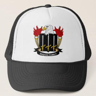 Ensign Family Crest Trucker Hat