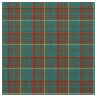 Ensign of Ontario Canada Tartan Fabric