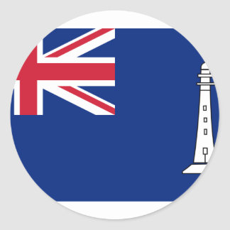 Ensign the British Commissioners Northern Lighthou Stickers