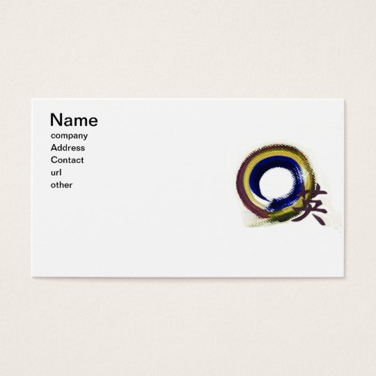 Enso, Aperature of Courage Business Card