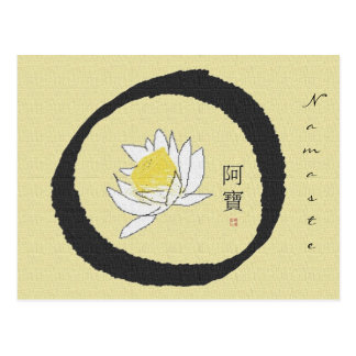 enso_lotus Postcard